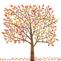 Lunch Servietten Autumn Tree