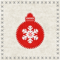 Lunch napkins Felt Ornament