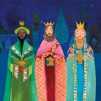 Lunch Servietten Holy Three Kings