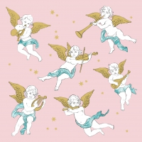 Lunch napkins Angels in the Sky