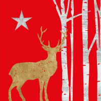 Lunch napkins Mystic Deer