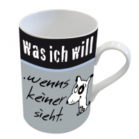 porcelain cup Was ich will