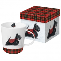 porcelain cup Scottie