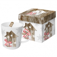 porcelain cup Trend Mug GB Country Xmas Home