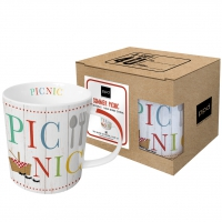 tasse de porcelaine Summer Picnic