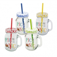 drinking glasses - Summer Picnic