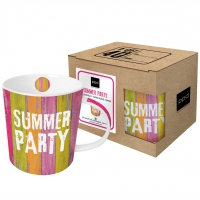**)porcelain cup Summer Party