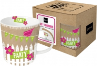 **)porcelain cup Party Cardboard