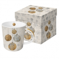 tazza di porcellana Holiday Ornaments