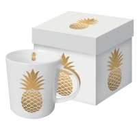 **)porcelain cup Pineapple