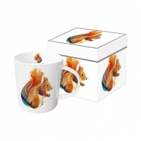 tasse de porcelaine Leros Squirrel