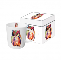 tasse de porcelaine Leros Owl