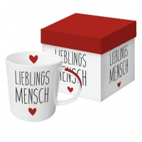 porcelain cup Lieblingsmensch