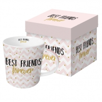 porcelain cup Forever Friends