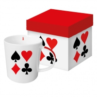 tasse de porcelaine Card Deck