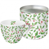 Tazza di porcellana - Aquarell Ilex