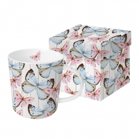 tasse de porcelaine Butterfly Dream