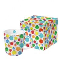 tasse de porcelaine Splashes