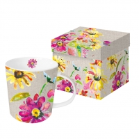 tasse de porcelaine Pretty Blossoms