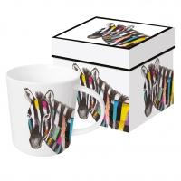 tasse de porcelaine Regalia Zebra