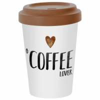 *)Vaso de bambú Coffee Lover