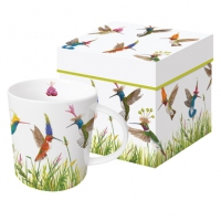 porcelain cup Meadow Buzz