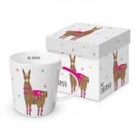 porcelain cup Drama Llama