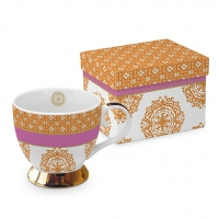 +*)Tasse classique - Classique GB Madaket orange Madaket or rose or véritable