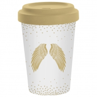 )Bamboo mug - Holy Wings
