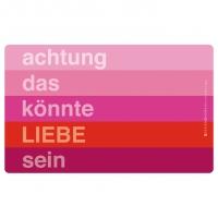 Breakfast board Achtung Liebe