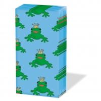 Taschentücher Frog King