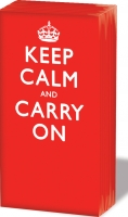 Taschentücher Keep Calm