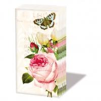 Taschentücher Jardin Rose