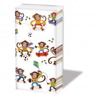 Taschentücher Skating Monkeys