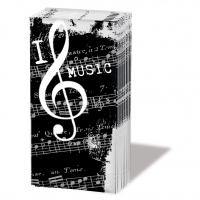 Taschentücher I Love Music