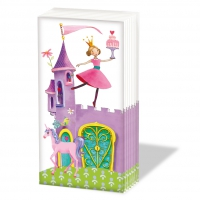 pañuelos de papel Princess Castle