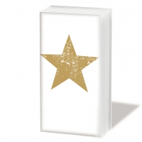 handkerchiefs Star Fashion gold