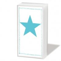 Taschentücher Star Fashion Aqua
