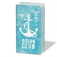 Taschentücher Ocean Club aqua
