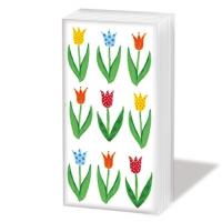 Taschentücher Anne´s Tulips