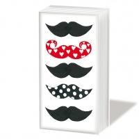 Taschentücher Les Moustaches