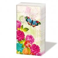 pañuelos de papel Spring letter