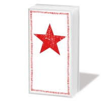 pañuelos de papel Star Fashion red