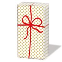 handkerchiefs Cadeau Deluxe gold