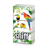 handkerchiefs Tropical Birds