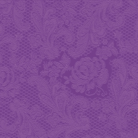 Lunch napkins Lace embossed purple