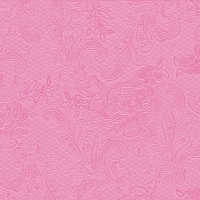 Lunch Tovaglioli Lace Embossed pink
