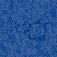 Lunch napkins Lace Embossed marine