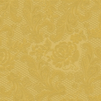 Cocktail Servietten Lace embossed gold