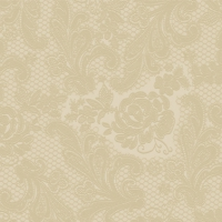 Lunch napkins Lace embossed sand